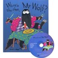 WHAT'S THE TIME, MR WOLF /精裝書+CD